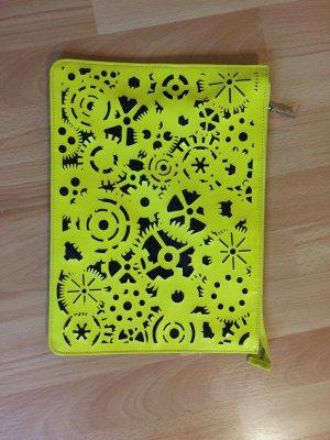 Asos Tasche Neon Gelb A4