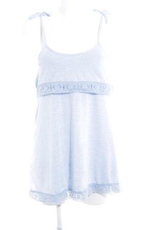 Asos Pinafore dress azure casual look