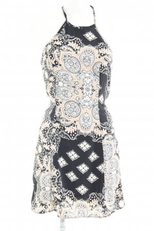 Asos Pinafore dress embellished pattern casual look
