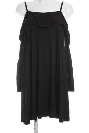 Asos Vestido tipo overol negro