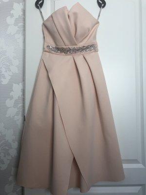 Asos Vestido bustier rosa