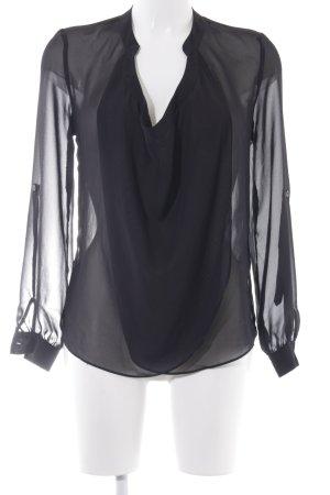 Asos Blouse transparente noir style transparent