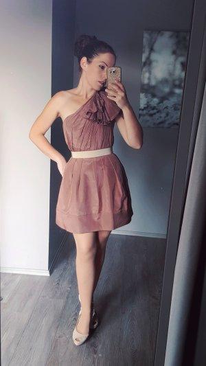 Asos Traumkleid One Shoulder Kleid Gr 34 Abendkleid Kleid Hochzeit Abiball Minikleid sexy