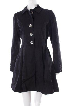 Asos Trenchcoat schwarz Gothic-Look