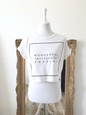 Asos T-shirt bianco-nero