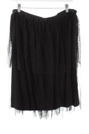 Asos Falda de tul negro elegante
