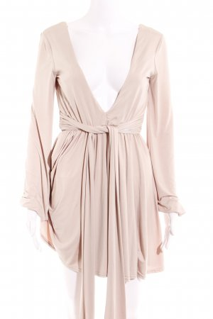 Asos Tunic Dress nude casual look