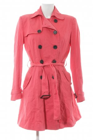 Asos Übergangsmantel pink Casual-Look