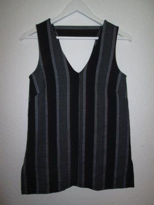 Asos Webshirt, V-Ausschnitt, gestreift