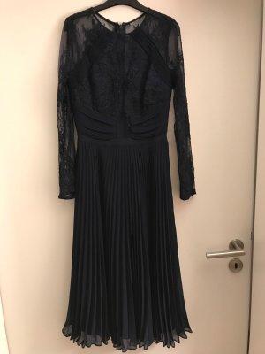 ASOS Wedding Kleid in Midilänge dunkelblau Spitze Gr.36!