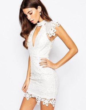 Asos weiß Kleid spitze