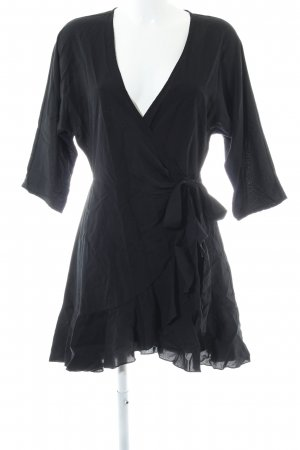 Asos Wraparound black simple style