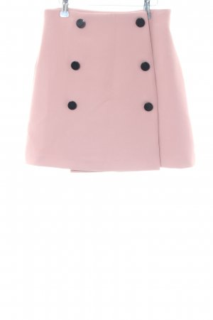 Asos Wikkelrok roze zakelijke stijl
