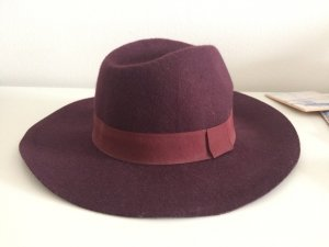 Asos Woolen Hat bordeaux