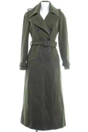 Asos Cappotto in lana verde scuro stile casual