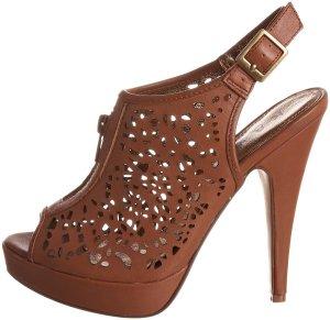 ASOS | Zara | Blogger | Sandalette | Leder | Bronze