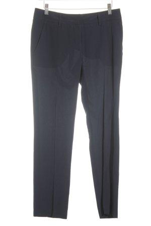 Aspesi Pantalone da abito blu scuro stile professionale