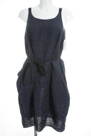 Aspesi Balloon Dress dark blue extravagant style