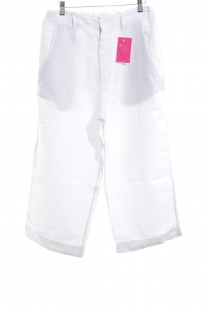 Aspesi Linen Pants white casual look