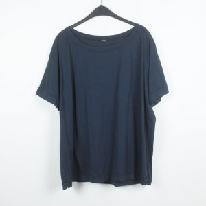 Aspesi T-shirt bleu foncé coton