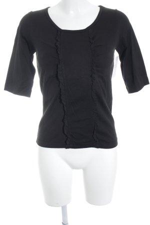 Aspesi T-shirt nero stile semplice