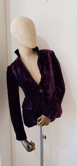 Aspesi Blazer brun pourpre-violet foncé