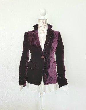 Aspesi Blazer marrone-viola-viola scuro