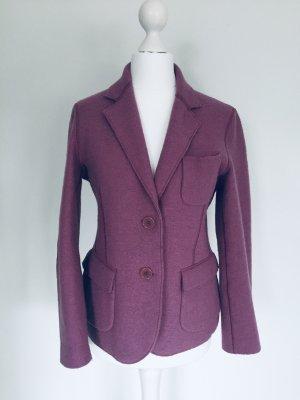 Aspesi Blazer in lana grigio-lilla