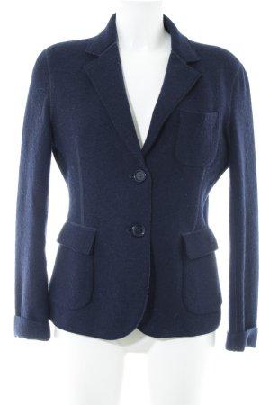 Aspesi Blazer en laine bleu foncé style classique