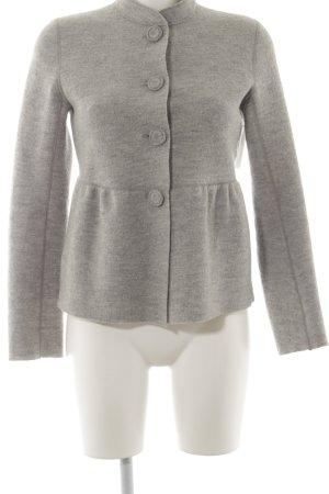 Aspesi Wool Jacket light grey flecked business style