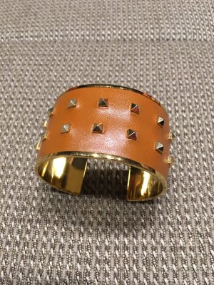 Aspinal of London Armlet gold-colored-cognac-coloured leather