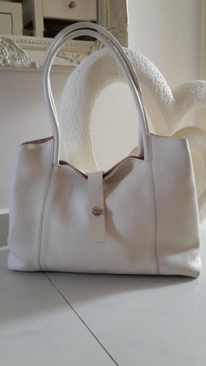 Assima Handbag natural white-oatmeal leather