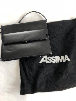 Assima Gekruiste tas zwart