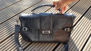 Assima Crossbody bag black leather