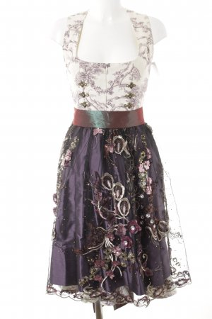 Astrid Söll Dirndl motif floral style campagnard
