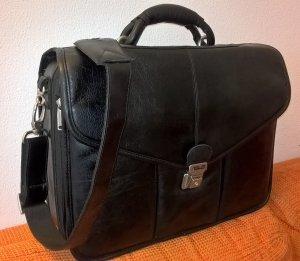 ASUS Laptoptasche Leder schwarz 15 Zoll Herren
