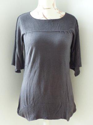 Monari Jersey de cuello redondo marrón grisáceo Viscosa