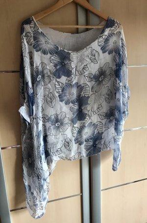 Blusa ancha multicolor