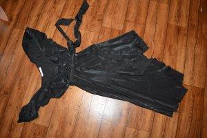 Nakd Volante jurk zwart