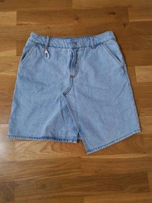 Asymmetrisch geschnittener Jeansrock