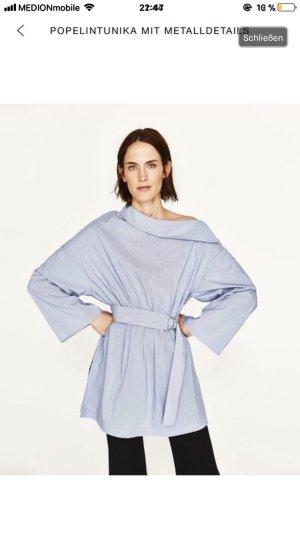 Asymmetrische Bluse aus Zara