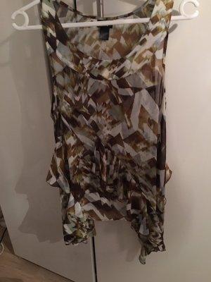 Asymmetrische Chiffon Bluse von H&M