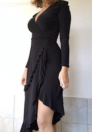 Asos Vestido cruzado negro