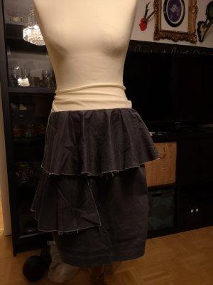 COS Asymmetry Skirt dark grey-anthracite