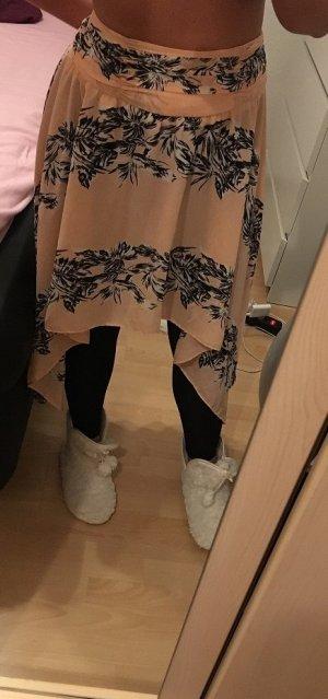 Zara Trafaluc Asymmetry Skirt multicolored