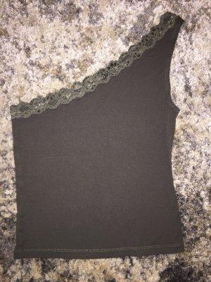 Asymmetrischer Top, Nabel- lang, in S, Mango suit