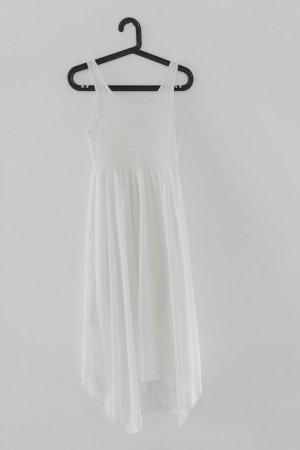 Asymmetrisches Boho Kleid mit gehäkeltem Oberteil / Divided Gr.XS