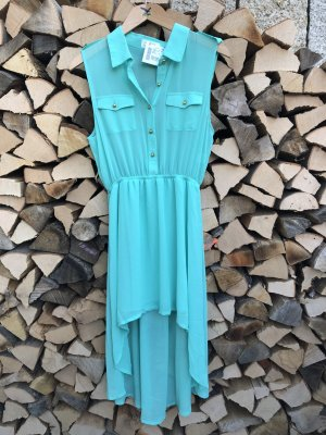 The Love Tree High Low Dress mint-turquoise