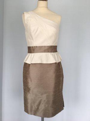 Asymmetrisches Cocktailkleid aus Seide Gr. 36/38