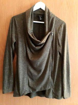 Forever 21 Shirt Jacket olive green